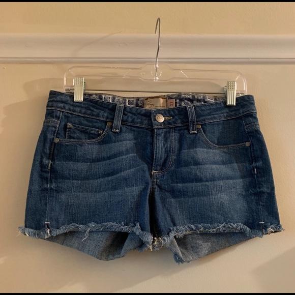 PAIGE Pants - Paige Denim Cut-Off Shorts